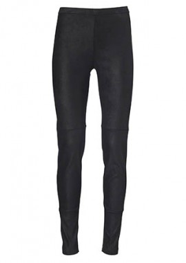 13173 Leggings, sadle black seam, rustic black