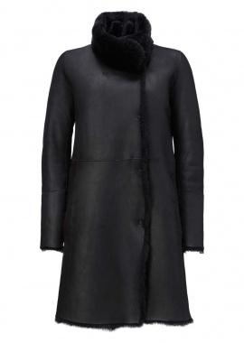 52168 Coat, corderico black