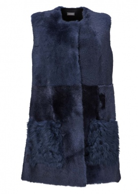 5576 Vest, corderico shadow blue