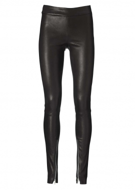13346 Leggings, turned zipper in legs, ela lamb caviar