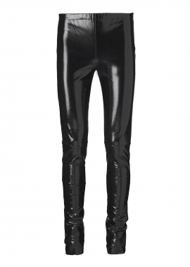 13377 Leggings, black lacquer
