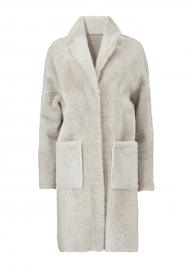51138 Coat, corderito beige