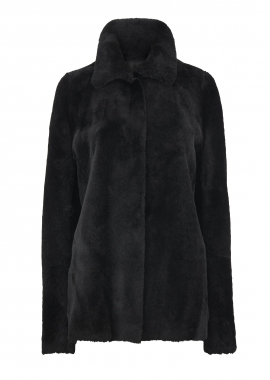 52180 Jacket, merino black