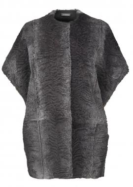 5569 Vest, rabbit grey, persien cut
