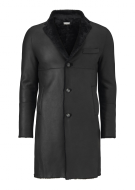 6250 Men's jacket, merino black