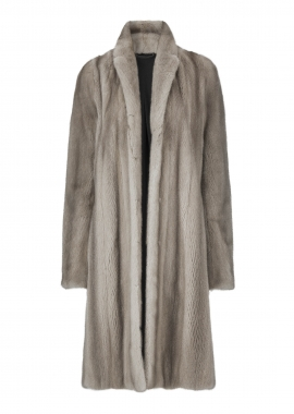 7098 Coat, mink natural color