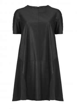 15656 Dress, black samantha w. silk