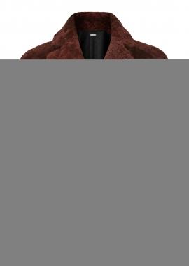 52182 Jacket, karakul rust w. toscana rust