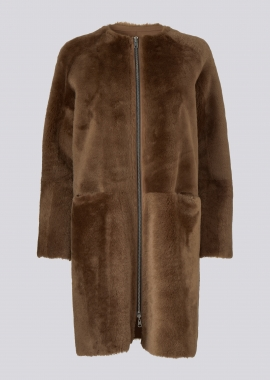 51117 Coat merino chestnut