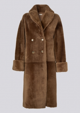 51150 Trench coat merino chestnot