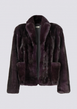 7096 Mink Jacket dark purl