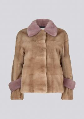 7114 Mink waistcoat