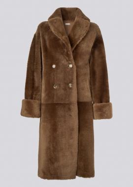 51150 Trench coat merino chestnot