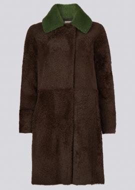 51151 Coat lacon pecan brown