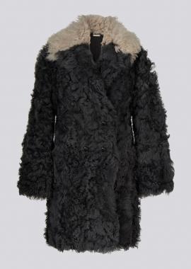 51152 3/4 coat tibet carabon/dust