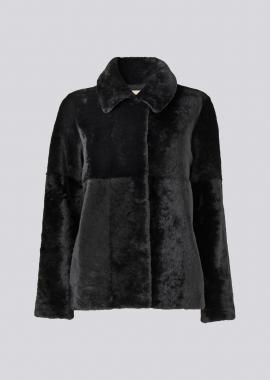 52194 Short jacket merino black