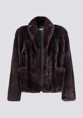 7096 Mink Jacket dark purl