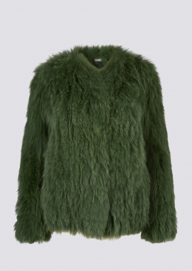 7105 Knitted fox jacket