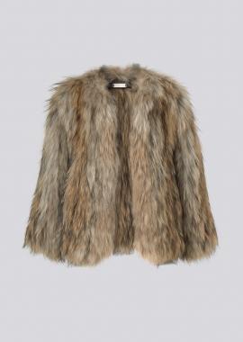 7105 Knitted fox jacket kids