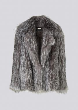 7121 Knittet silverfox