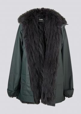 7124 Raincoat w/fox