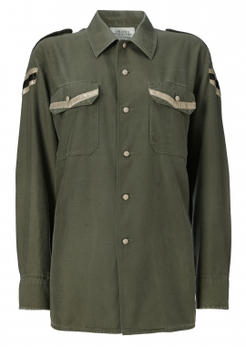 12420 Army shirt w. black samantha
