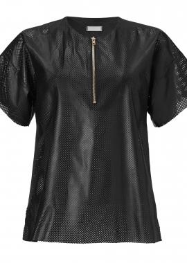 15624 Small dots, black, gold zipper15628Smal