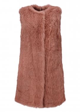 7074 Rabbit, marrakech color, on cotton net