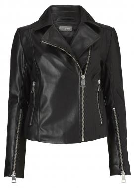 12426 Leather black pirat
