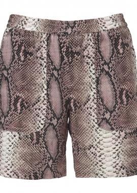 13361 Washed silk python print