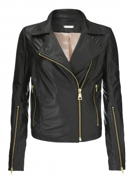 12431 Biker jacket fether nappa