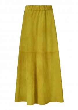 14357 Boho skirt, suede sun